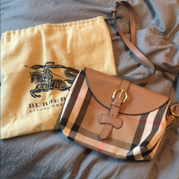 7cb3756fb239 Burberry Handbags - BURBERRY Milton Crossbody Bag